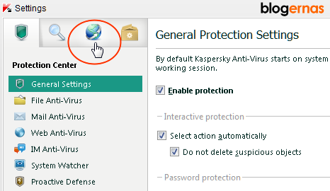 Cara Mengatur Kaspersky Anti-virus (KAV) 2012 agar tetap Up to date
