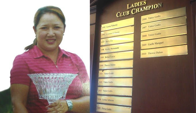 Remembering Vinice Godio, Champion Lady Golfer