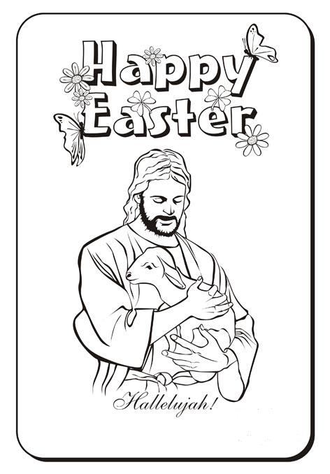 Easter Coloring Pages Jesus Coloring