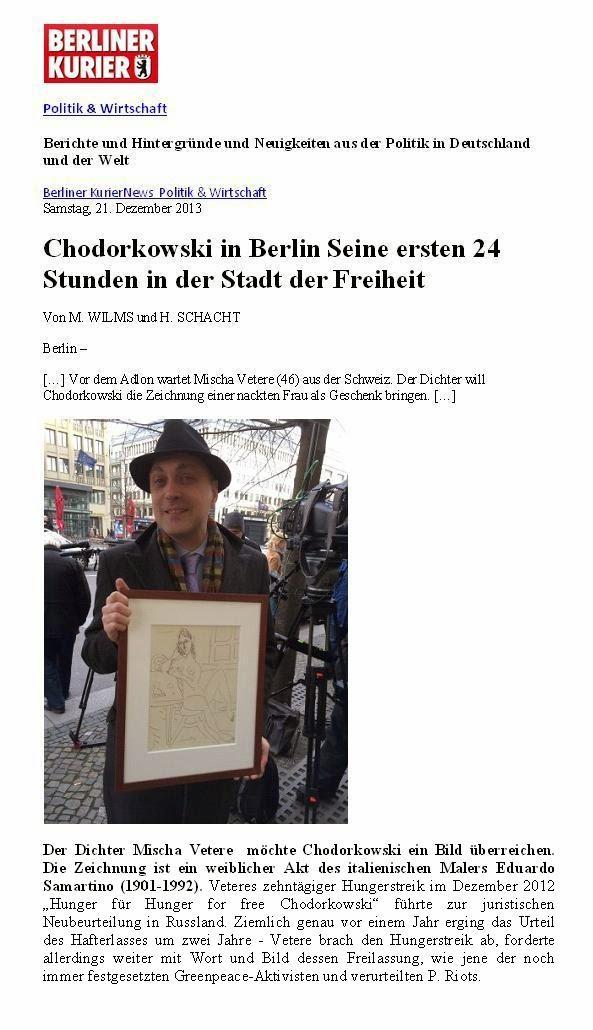 mischa vetere DIE GEISTIGE REVOLUTION chodorkowski-befreiungseingagement 2012 2013 genscher lüge