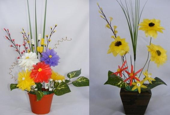 Menyulap Sedotan Menjadi Bunga