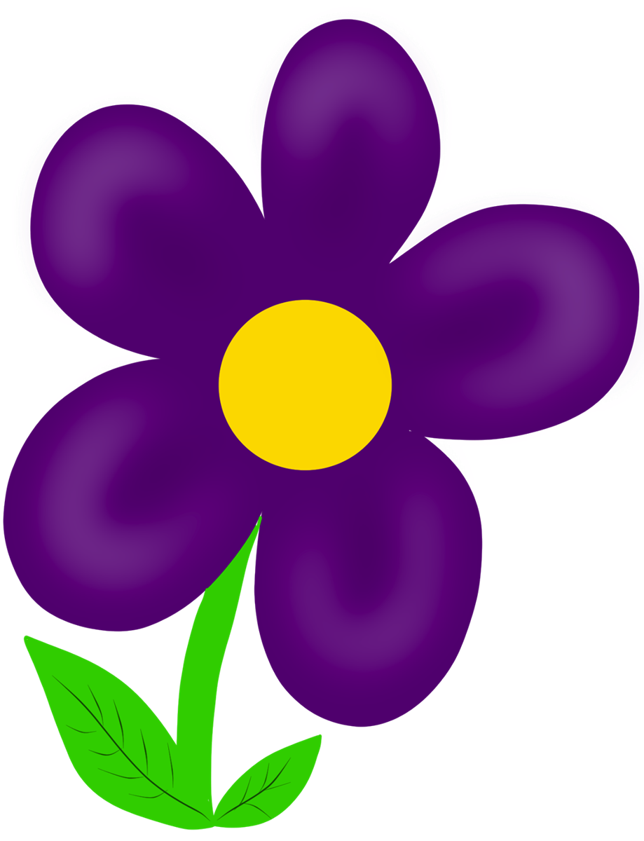 Flowers Clip Art | Many Flowers - 294.1KB