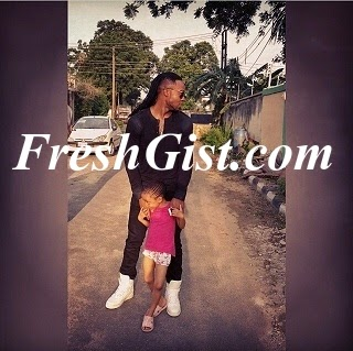 Flavour's Daughter: Flavour Has A Child Too And So Cute
