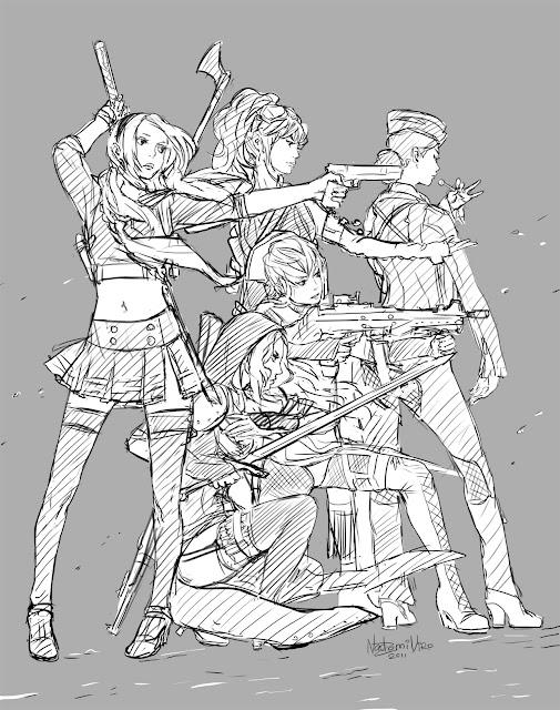 Sucker Punch sketch. por NadzomiViro