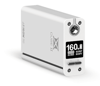 Matt White SMOK X Cube 2 TC 160W Box Mod official has launched