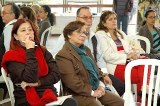 Secretária dos Direitos da Mulher Joselice Cerqueira, representante do poder público na reunião do Conleste