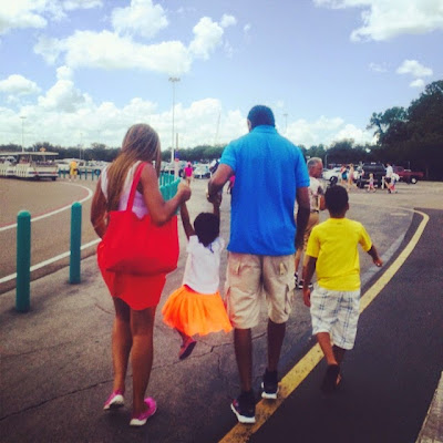 Pictures of Kanu Nwankwo and His Family on Vacation