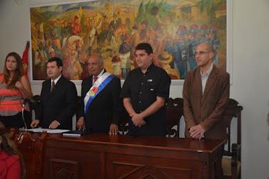 Se Juramentó nueva directiva del Concejo Municipal de Campo Elías