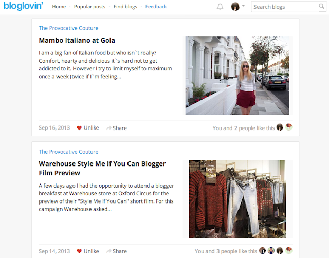 social media channels for fashion bloggers