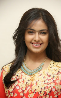 Actress Avika Gor Latest Picture Gallery at Lakshmi Raave Maa Intiki Trailor Launch 45