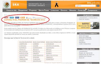 tecnicos sra 2012