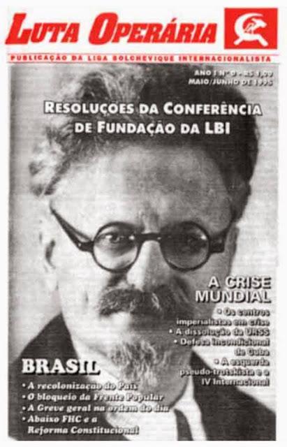 ARQUIVO JORNAL LUTA OPERÁRIA