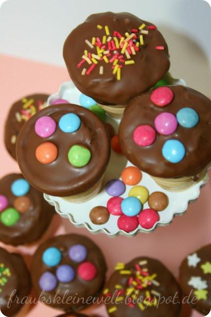 Muffins für Kindergeburtstag, mit Rezept