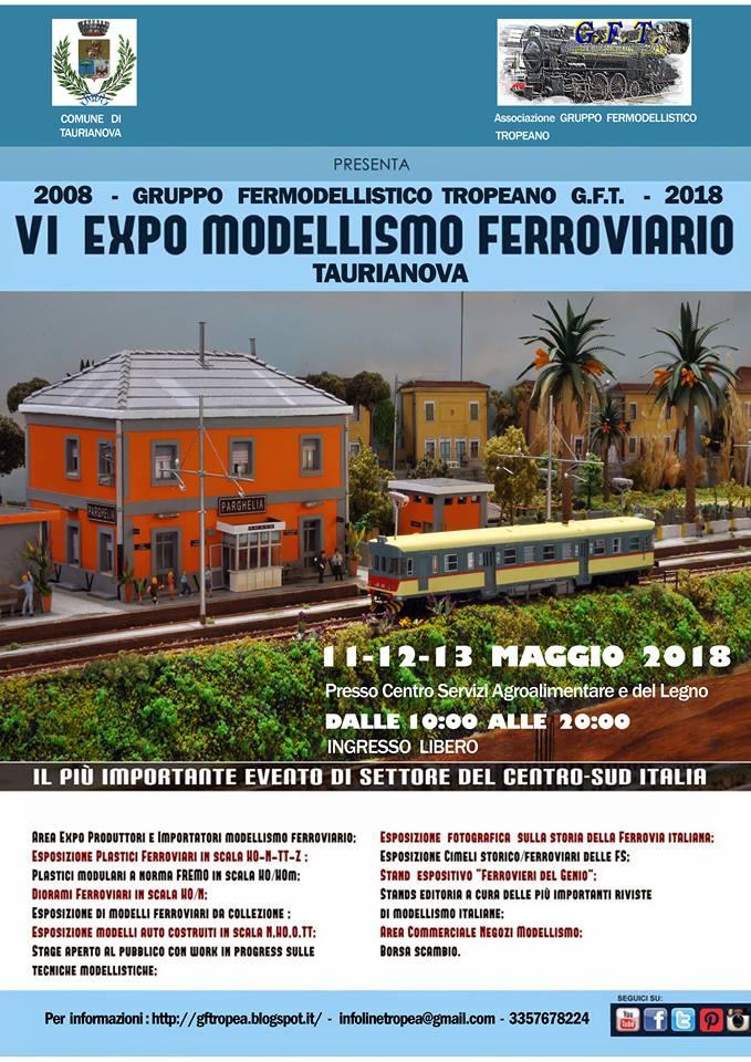 VI EXPO Modellismo Ferroviario G.F.T.