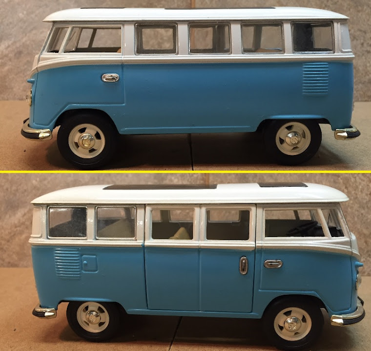 1963 VW Micro Bus, 1:24th Scale ~