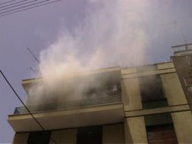 «Λαμπάδιασε » διαμέρισμα στην Καλαμάτα λόγω αφηρημάδας