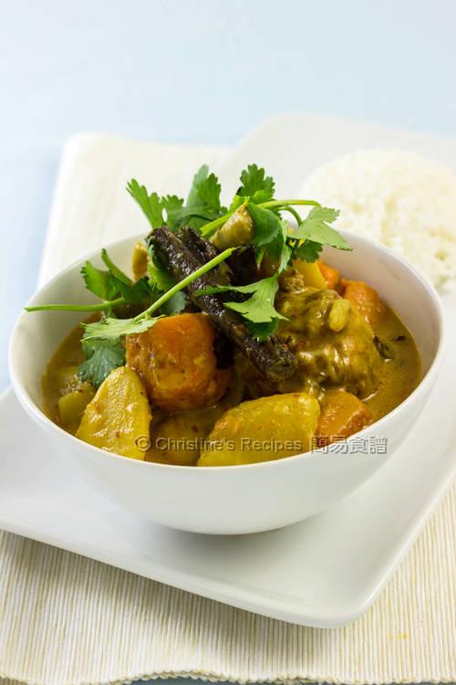 馬來咖哩雞 Curry Chicken01