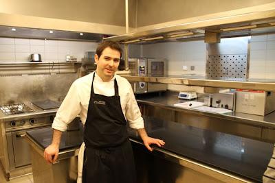 Pablo Montero chef de El Hotel Abadía Retuerta Le Domaine. Blog Esteban Capdevila