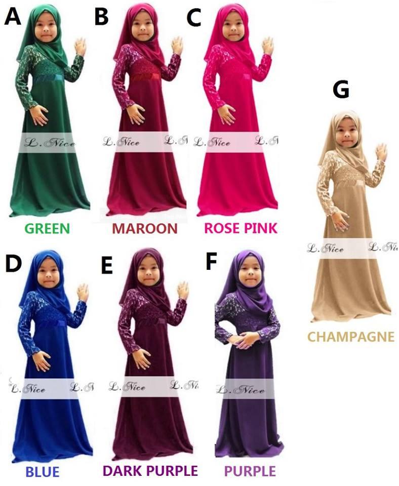 Pre Order : Jubah Dress