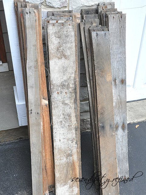 Rustic pallet wood cart, built by Serendipity Refined, featured on I Love That Junk