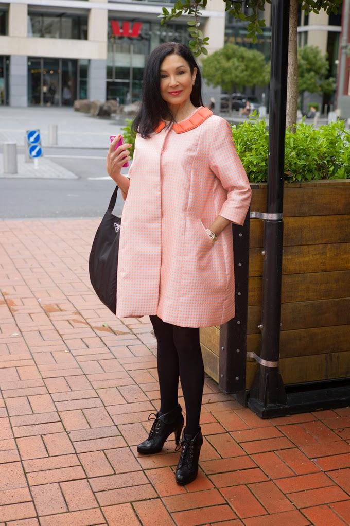 NZ street style, senior style, street photography, Trelise Cooper, New Zealand fashion, auckland street style, hot older women, most beautiful, kiwi fashion