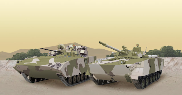 Tank IFV (Infantry Fighting Vehicles) Produksi  Kurganmashzavod