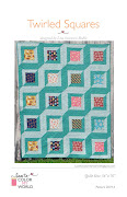 Purchase the Twirled Squares pattern