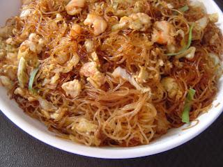 Bihun Goreng Seafood Sederhana