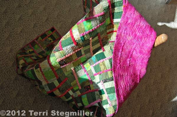 Terri Stegmiller Green & Pink