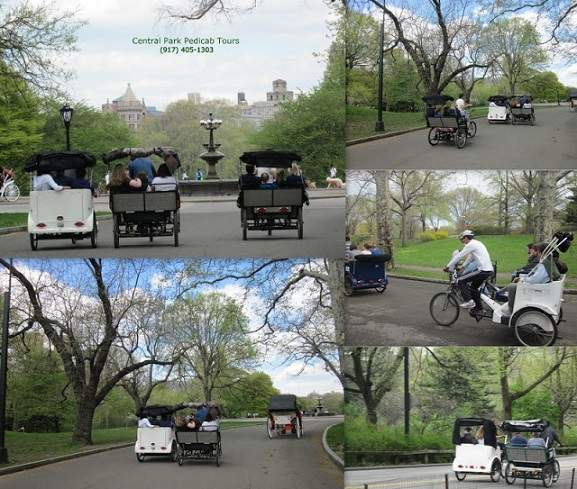 Central Park Tours by Pedicabs, NYC