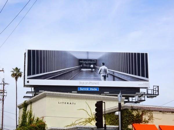 Shot on iPhone 6 Hattan A billboard