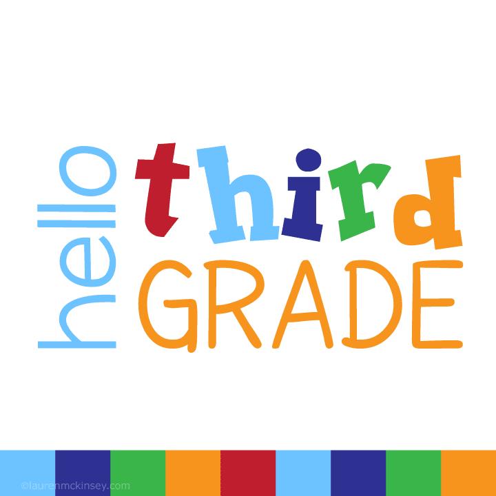Third grade 2018