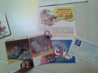 Catálogo de otros juegos y carnet del club cefa