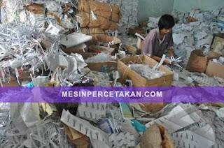 Bisnis sampah kertas bekas