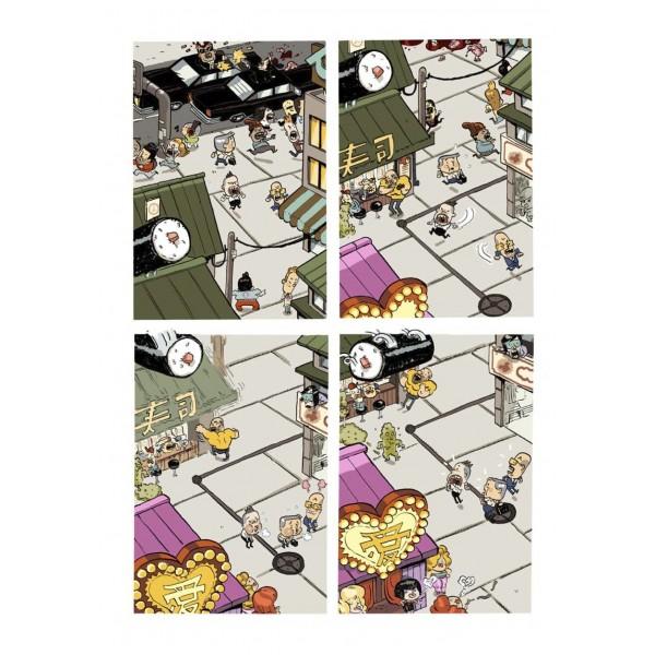 Banda dese ada comics librer a aventuras de un for Que es un oficinista