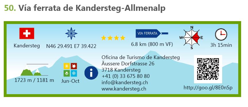 Ferrata de Kandersteg