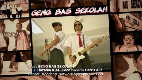 Hazama feat. AG Coco - Geng Bas Sekolah MP3