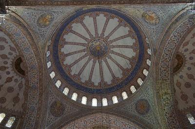 Cúpula de la Mezquita Azul