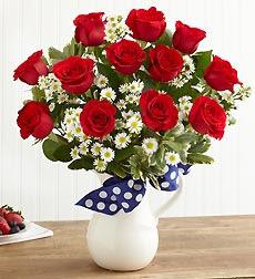 fotos de flores - ramo de rosas