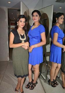 Indian Models at Kirtilals Take 5 Campaign at Kirtilals showroom at Somajiguda Circle, Hyderabad