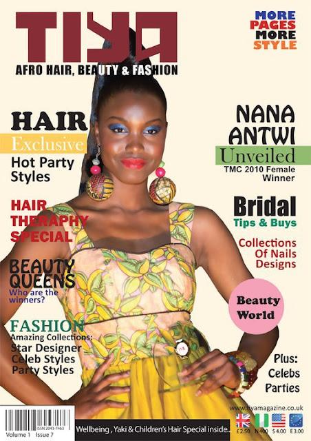 Nana Afua Antwi - Tiya Magazine - iLoveAnkara
