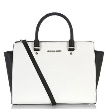 Beautiful Black And White Handbag