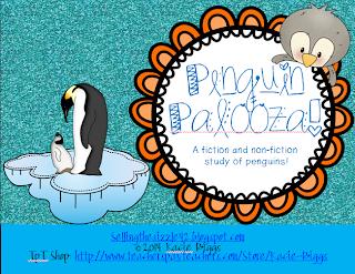 http://www.teacherspayteachers.com/Product/Penguin-Palooza-a-common-core-fiction-and-non-fiction-unit-about-penguins-1058145
