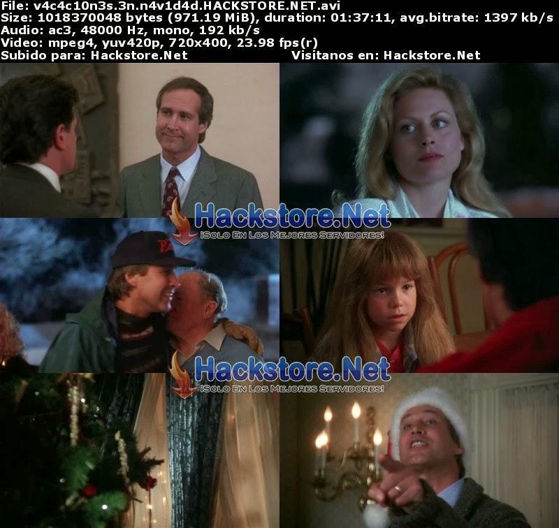 Captura Vacaciones de Navidad (1989) DVDRip Latino