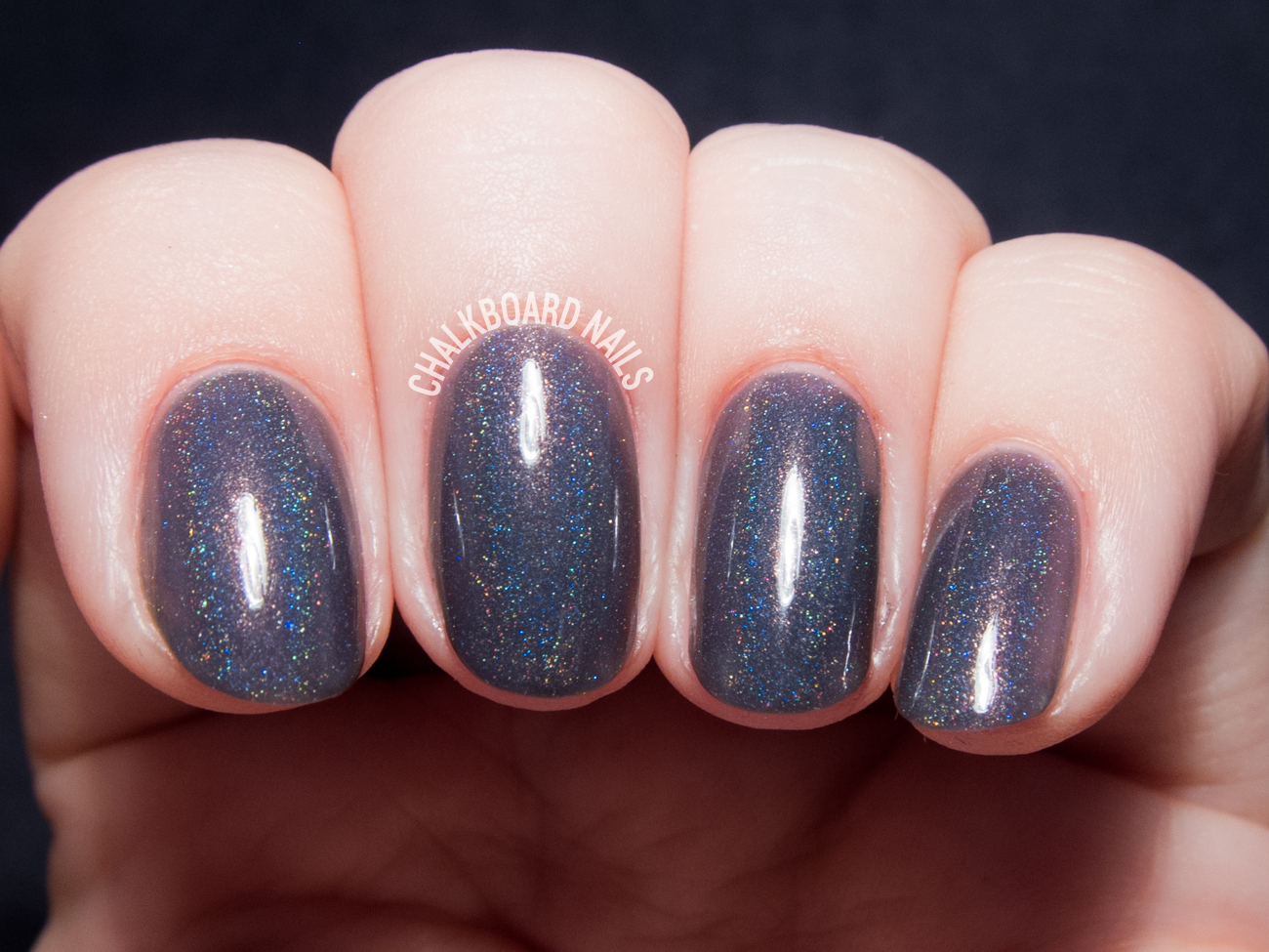 Contrary Polish When In Rome via @chalkboardnails
