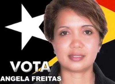 Timor-Leste: REJEITADO PEDIDO DE CANDIDATURA DE ÂNGELA FREITAS