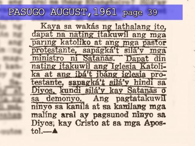 Ang dating daan website felix manalo burial