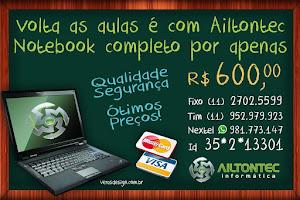 Notebook por apenas R$:600,00