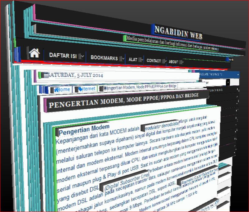 Pengertian Modem, Mode PPPoE/PPPoA dan Bridge ~ NGABIDIN WEB