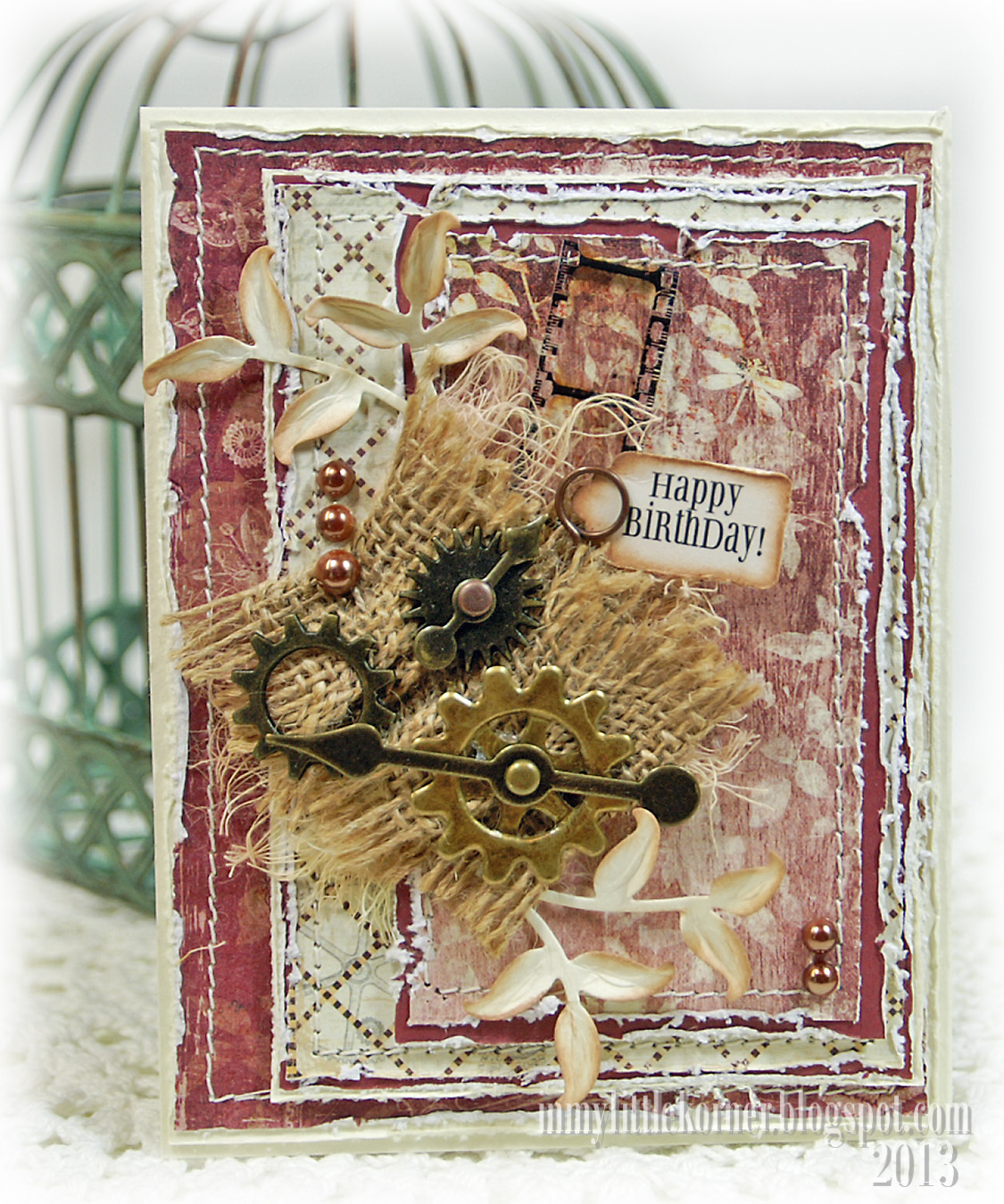 Masciline Handmade Cards With Banner Designs